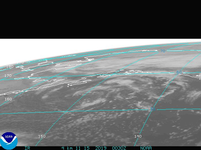 Gulf of Mexico IR Image from GOES