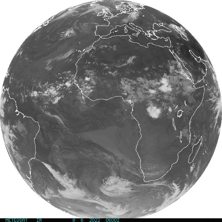 Full Disk Satellite IR