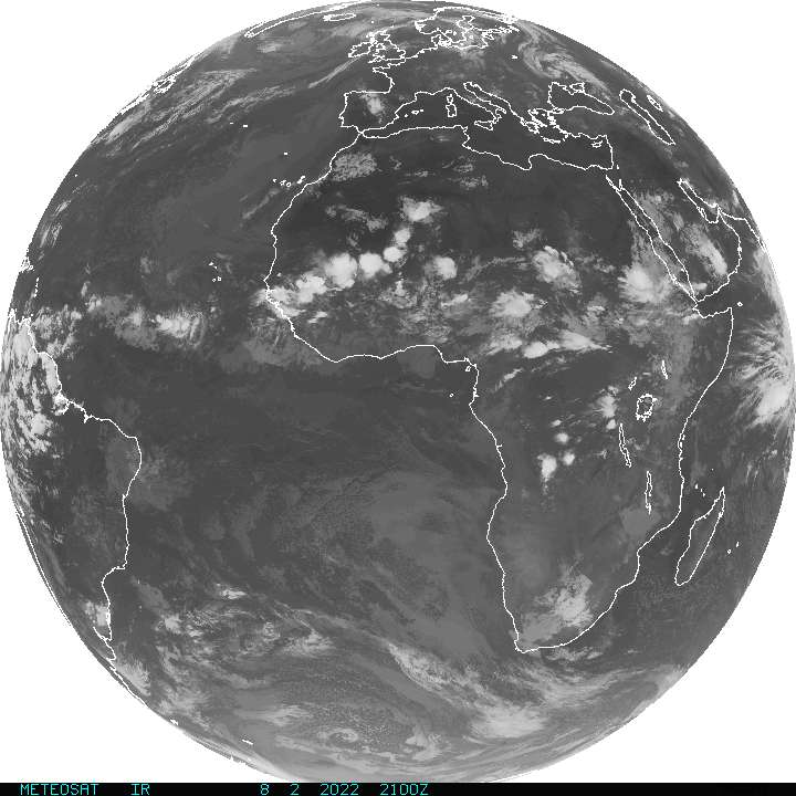 METEOSAT image - other side of the world