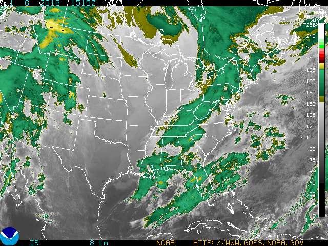 NOAA Eastern US IR