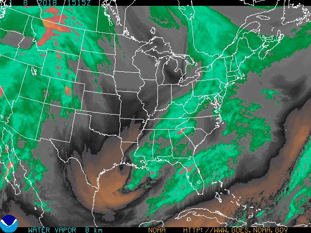 Eastern U.S. Water Vapor Enhancement 3