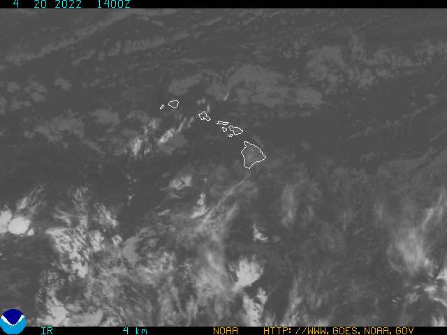 Hawaii infrared image