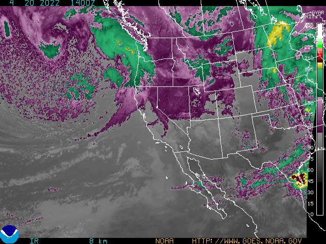 Western U.S. Infrared Enhancement 2
