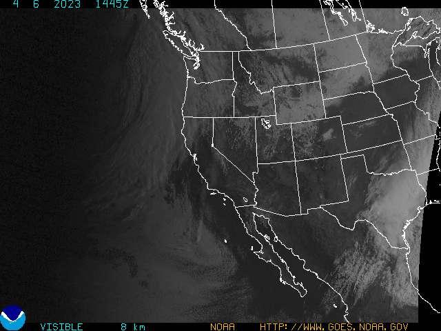 Satellite image - visible