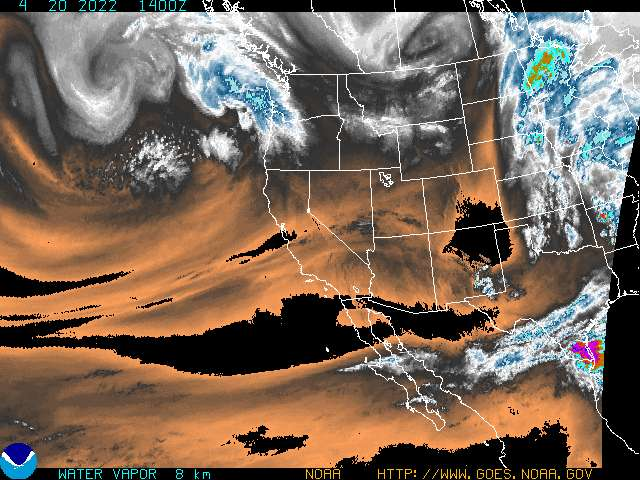 Current Water Vapor Image