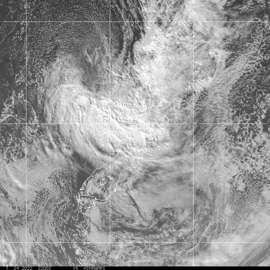NZ Visible Himiwari-8 Satellite image