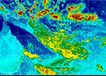 Himawari-8 Southern Hemisphere Infrared, Channel 2
