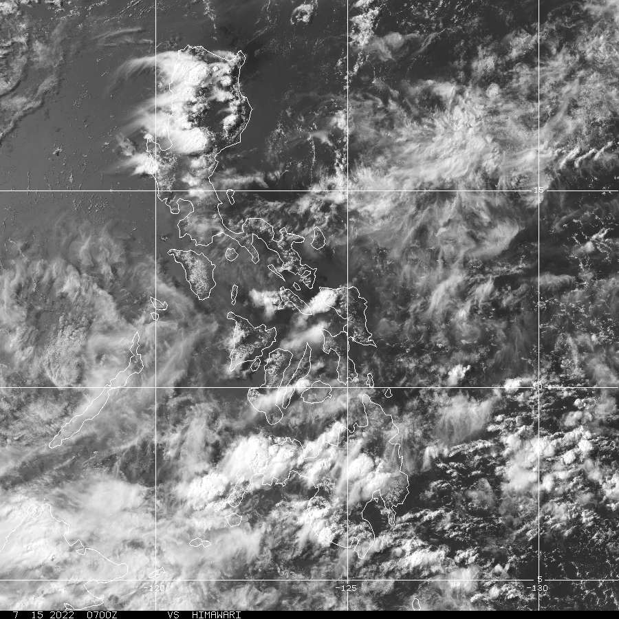 Philippines Loop Himawari NOAA GOES Geostationay Satellite Server - Map of the philippines via satellite live